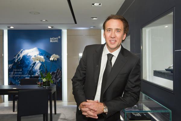 Montblanc Timewalker Nicolas Cage