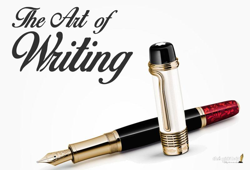Lịch su thuong hieu but Montblanc-1986 -Montblanc - The Art of Writing