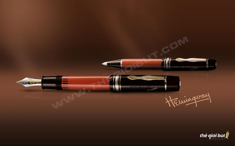 Lịch su thuong hieu but Montblanc-1992-But-Montblanc-Hemingway